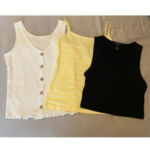 3 pack Tank Tops